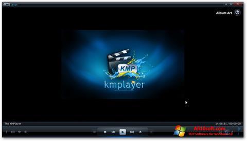 Posnetek zaslona KMPlayer Windows 10