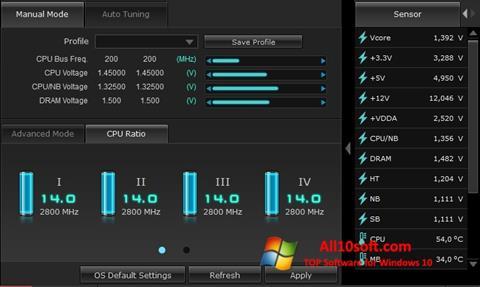Posnetek zaslona TurboV EVO Windows 10