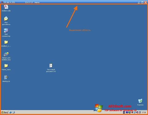 Posnetek zaslona Radmin Windows 10