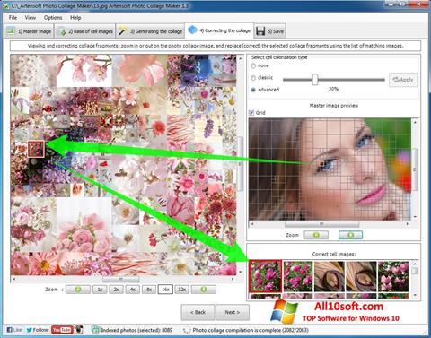 Posnetek zaslona Photo Collage Maker Windows 10