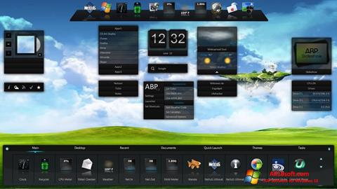 Posnetek zaslona Winstep Nexus Windows 10